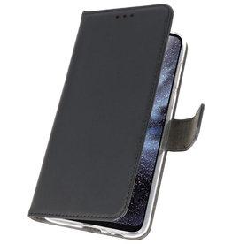 Wallet Cases Hoesje voor Samsung Galaxy A8s Zwart