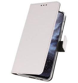 Wallet Cases Hülle für Samsung Galaxy A8s Weiß
