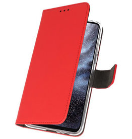 Wallet Cases Case for Samsung Galaxy A8s Red