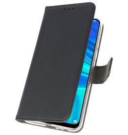 Wallet Cases Tasche für Huawei P Smart 2019 Schwarz
