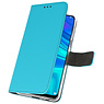 Wallet Cases Case for Huawei P Smart 2019 Blue