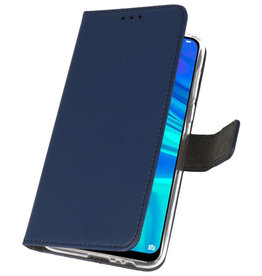 Wallet Cases Hoesje voor Huawei P Smart 2019 Navy
