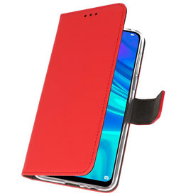 Wallet Cases Case for Huawei P Smart 2019 Red