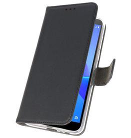 Wallet Cases Hoesje voor Huawei Y5 Lite 2018 Zwart