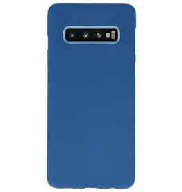 Color TPU case for Samsung Galaxy S10 Navy