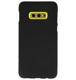 Color TPU case for Samsung Galaxy S10e black