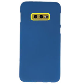 Color TPU case for Samsung Galaxy S10e Navy
