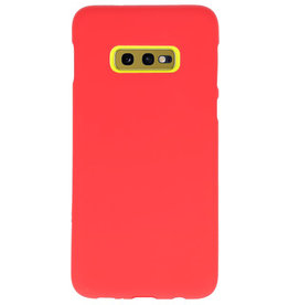 Color TPU case for Samsung Galaxy S10e red