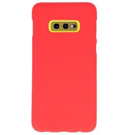 Farb-TPU-Hülle für Samsung Galaxy S10e rot
