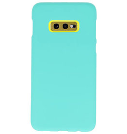 Color TPU case for Samsung Galaxy S10e Turquoise