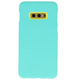 Farb-TPU-Hülle für Samsung Galaxy S10e Turquoise
