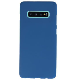 Color TPU case for Samsung Galaxy S10 Plus Navy