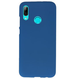 Color TPU Hoesje voor Huawei P Smart 2019 Navy