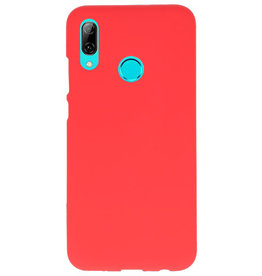 Color TPU case for Huawei P Smart 2019 red