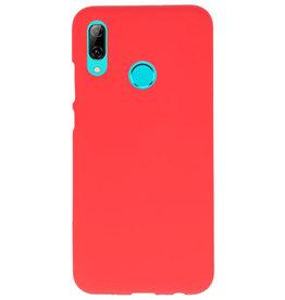 Farb-TPU-Hülle für Huawei P Smart 2019 rot