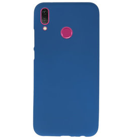 Color TPU case for Huawei Y9 2019 Navy