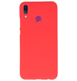 Color TPU case for Huawei Y9 2019 red