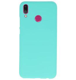 Color TPU Hoesje voor Huawei Y9 2019 Turquoise