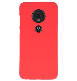 Color TPU case for Motorola Moto G7 red