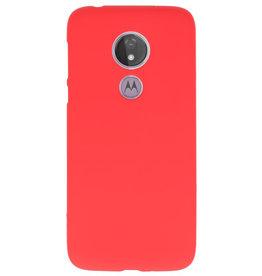 Farb-TPU-Hülle für Motorola Moto G7 Power Red