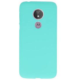 Color TPU Hoesje voor Motorola Moto G7 Power Turquoise
