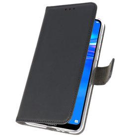 Wallet Cases Case für Huawei Y7 / Y7 Prime (2019) Schwarz