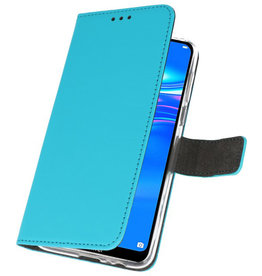 Wallet Cases Case for Huawei Y7 / Y7 Prime (2019) Blue