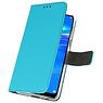Wallet Cases Hoesje voor Huawei Y7 / Y7 Prime (2019) Blauw