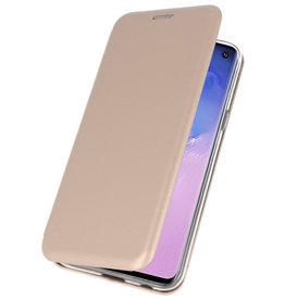 Slim Folio-Hülle für Samsung Galaxy S10 Gold