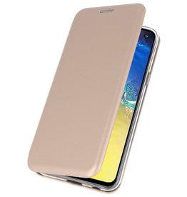 Slim Folio Case for Samsung Galaxy S10e Gold