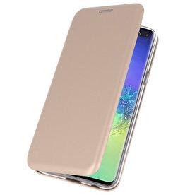 Slim Folio-Hülle für Samsung Galaxy S10 Plus Gold