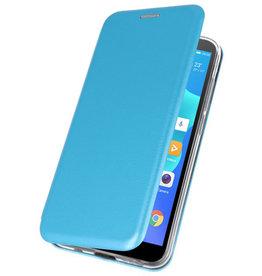 Schmales Folio-Case für Huawei Y5 Lite / Y5 Prime 2018 Blau