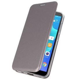 Slim Folio Case for Huawei Y5 Lite / Y5 Prime 2018 Gray