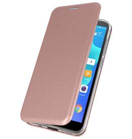 Schmales Folio-Case für das Huawei Y5 Lite / Y5 Prime 2018 Pink