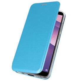 Schmales Folio-Case für Huawei Y7 / Y7 Prime 2018 Blau