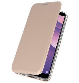 Slim Folio Case for Huawei Y7 / Y7 Prime 2018 Gold