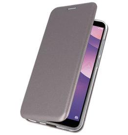 Slim Folio Case für Huawei Y7 / Y7 Prime 2018 Grau