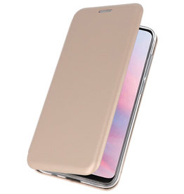 Slim Folio Case for Huawei Y9 2019 Gold