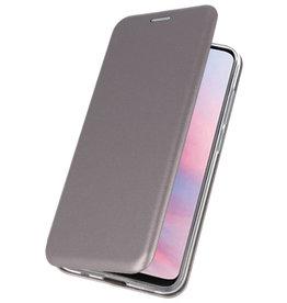 Slim Folio Case voor Huawei Y9 2019 Grijs