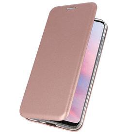 Slim Folio Case voor Huawei Y9 2019 Roze