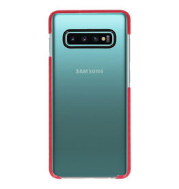 Armor TPU Hoesje voor Samsung Galaxy 10 Plus Transparant / R