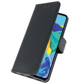Bookstyle Wallet Cases Case für Huawei P30 Schwarz