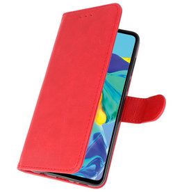 Bookstyle Wallet Cases Case for Huawei P30 Red