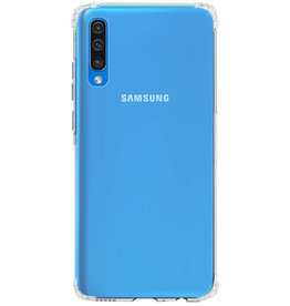 Shockproof transparent TPU case for Galaxy A50