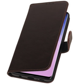Pull Up Bookstyle for Samsung Galaxy S10 Mocca