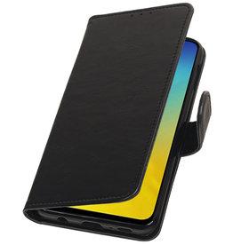 Pull Up Bookstyle für Samsung Galaxy S10e Schwarz