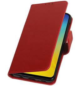 Pull Up Bookstyle for Samsung Galaxy S10e Red