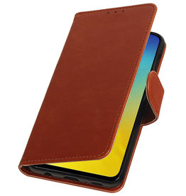 Pull Up Bookstyle for Samsung Galaxy S10e Brown