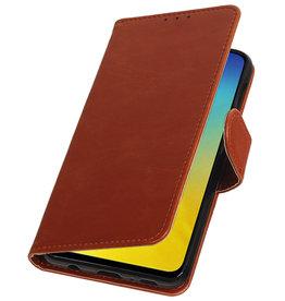 Pull Up Bookstyle für Samsung Galaxy S10e Brown