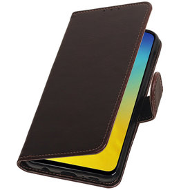 Pull Up Bookstyle for Samsung Galaxy S10e Mocca